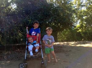 Evan, Aiden and Jackson