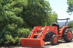 Small front-loader.